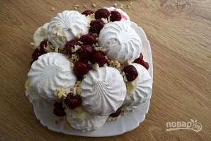 Торт из зефира с кремом - фото шаг 9