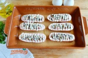 Сардельки, фаршированные сыром и грибами - фото шаг 6