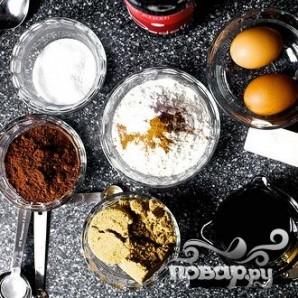 Шоколадный пирог с маскарпоне - фото шаг 1