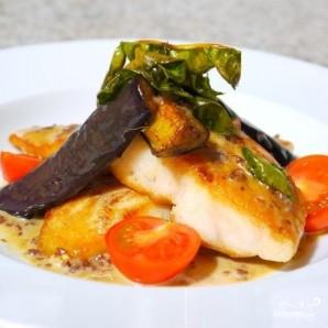 Белая рыба в сливочном соусе с анчоусами - фото шаг 9