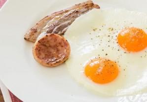 Глазунья к завтраку - фото шаг 4