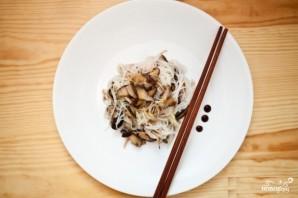 Рисовая лапша с грибами - фото шаг 4