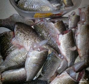Рыбные консервы в масле - фото шаг 2