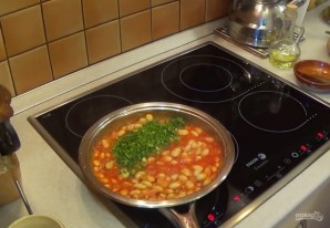 Фасоль, тушенная в томатном соусе - фото шаг 3