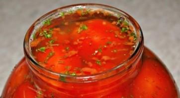 Засолка помидоров холодным способом - фото шаг 4