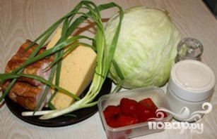Прага салат - фото шаг 1