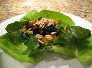 Салат из тыквы и клюквы - фото шаг 2