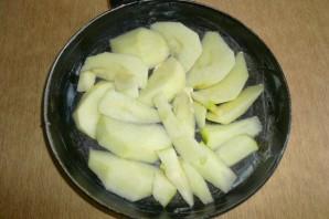 Шарлотка с яблоками - фото шаг 5