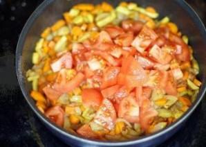 Семга с овощами в мультиварке - фото шаг 4