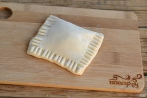 Слойки с вареньем из слоеного теста - фото шаг 4