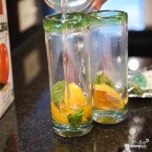 Апельсиновый мохито - фото шаг 2
