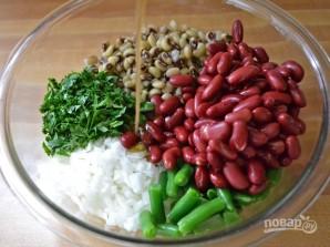 Салат из фасоли - фото шаг 5