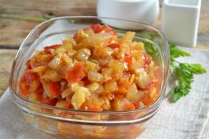 Икра кабачковая с перцем и помидорами - фото шаг 7