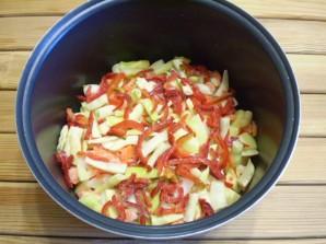 Рагу с фасолью - фото шаг 5