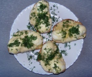 Бутерброды с яйцом и сыром - фото шаг 7