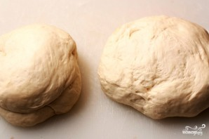 Фокачча с сыром и базиликом - фото шаг 5