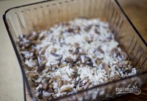 Салат с куриным филе и грибами - фото шаг 6