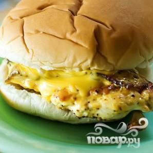 Сэндвич с курицей - фото шаг 11