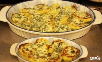 Картошка с сыром в духовке - фото шаг 4