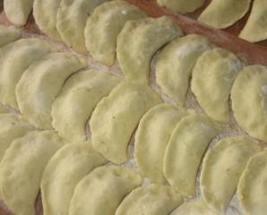 Вареники с печенью и картошкой - фото шаг 3