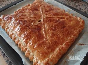Слоеный пирог с тунцом - фото шаг 12
