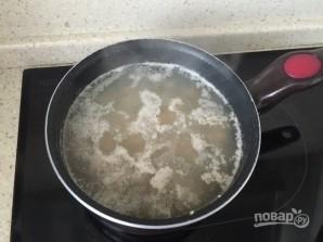 Салат с куриными сердечками и грибами - фото шаг 2