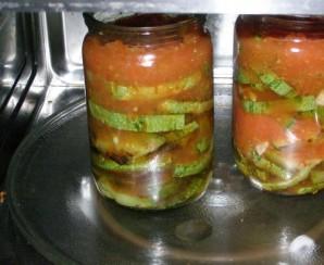 Жареные кабачки с чесноком на зиму - фото шаг 6