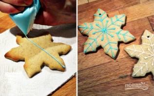 Цветная глазурь для печенья - фото шаг 4