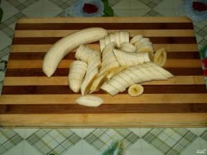 Банановый пирог из слоеного теста - фото шаг 4