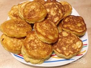 Рецепт тыквенных оладий - фото шаг 10