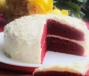 Торт красный - фото шаг 15