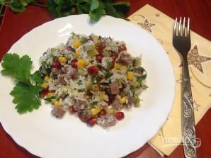 Салат с рисом и говядиной - фото шаг 8