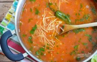 Суп овощной с вермишелью - фото шаг 8