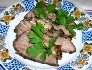 Молодая свинина, запеченная в фольге - фото шаг 6