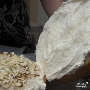 Кокосовый пирог с кремом - фото шаг 13