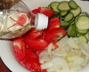 Салат в банке - фото шаг 2