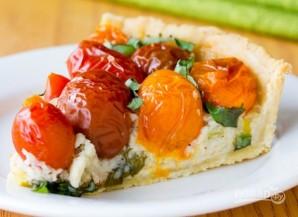 Тарт с сыром и томатами - фото шаг 6