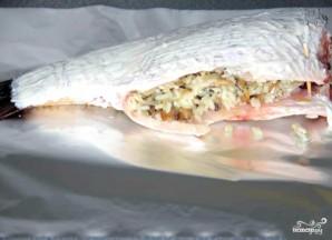 Карп с рисом, запеченный в духовке - фото шаг 2