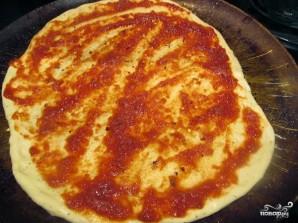 Быстрое тесто на пиццу - фото шаг 8