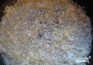 Семга с креветками в сливочном соусе - фото шаг 5