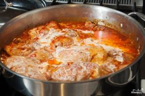 Куриное филе в чесночном соусе - фото шаг 6