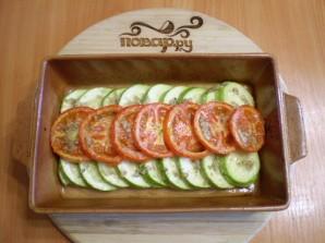 Запеченные кабачки с помидорами - фото шаг 5