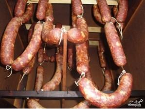 Копченые колбаски - фото шаг 5