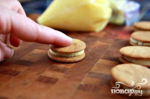 Пряное печенье с апельсиновым кремом - фото шаг 10