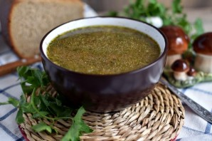 Суп с грибами и красной фасолью - фото шаг 6