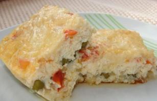 Омлет с сыром в мультиварке - фото шаг 7