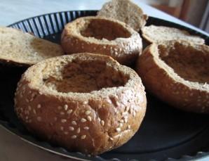 Суп в буханке хлеба - фото шаг 5