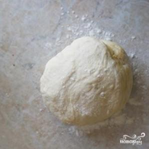 Фокачча с тимьяном и чесноком - фото шаг 5