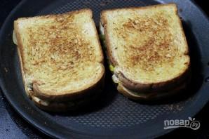 Сэндвич с овощами - фото шаг 5