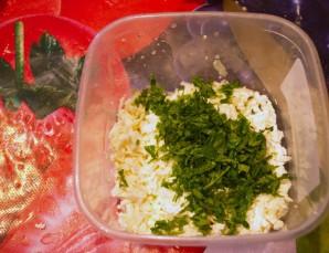 Кавказские лепешки с зеленью - фото шаг 2